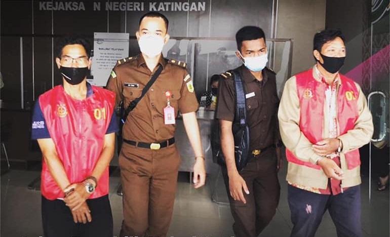 Korupsi Rp825 Juta, Giliran Mantan Kades Tewang Baringin dan Oknum ASN Ditahan