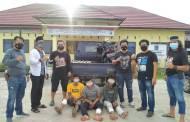 Dorrr… Tiga Residivis Spesialis Curanmor Lintas Provinsi Dilumpuhkan
