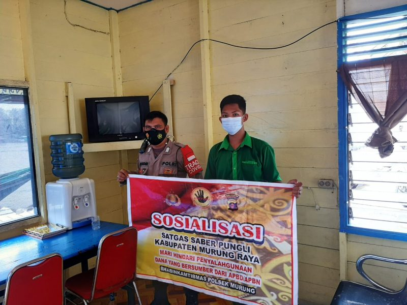 Cegah Pungli di Kawasan Pelabuhan, Bripka Rodie Berikan Sosialisasi