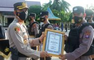 Anggota Berprestasi Diberikan Penghargaan