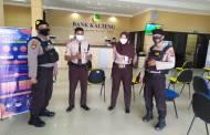 Jelang Libur, Binmas Cek Sistem Keamanan Security dan Kelengkapan Satpam