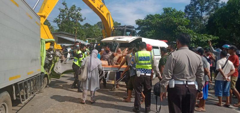 Dua Korban Tewas Kecelakaan di Desa Mintin Asal Kalimantan Selatan