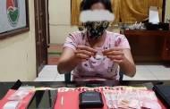 Wanita di Desa Tampelas Kedapatan Miliki 1,07 Gram Sabu