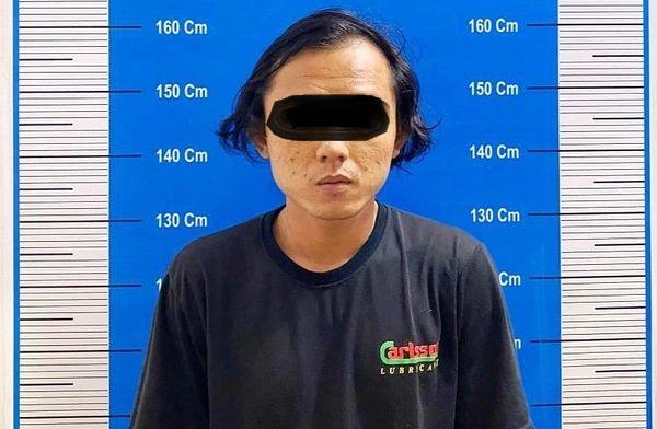 Bawa Sabu, Pemuda Ini Dicegat Polisi di Pertigaan Jalan Tambun Bungai-Ahmad Yani