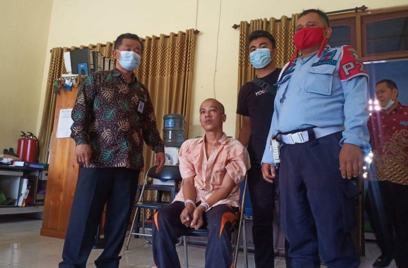 Napi Lapas Palangka Raya Kabur, Tertangkap saat Sembunyi di Bukit Rawi