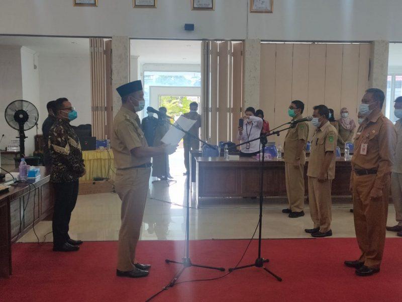 Bupati Sukamara Kukuhkan TPAKD Kabupaten