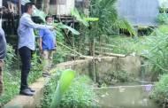 Dinas PUPR Barito Utara Pasang Pompa Air di Aliran Sungai Bengaris