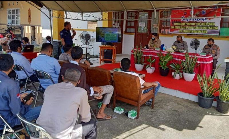 Ketua RT se-Kelurahan Beriwit Diberikan Sosialisasi Saber Pungli