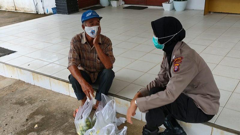 Bripka Rati Dwi Jayati Ngrobrol Santai Sampaikan Pentingnya Prokes