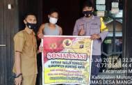 Sambangi Rumah Warga dan Sampaikan Sosialisasi Saber Pungli