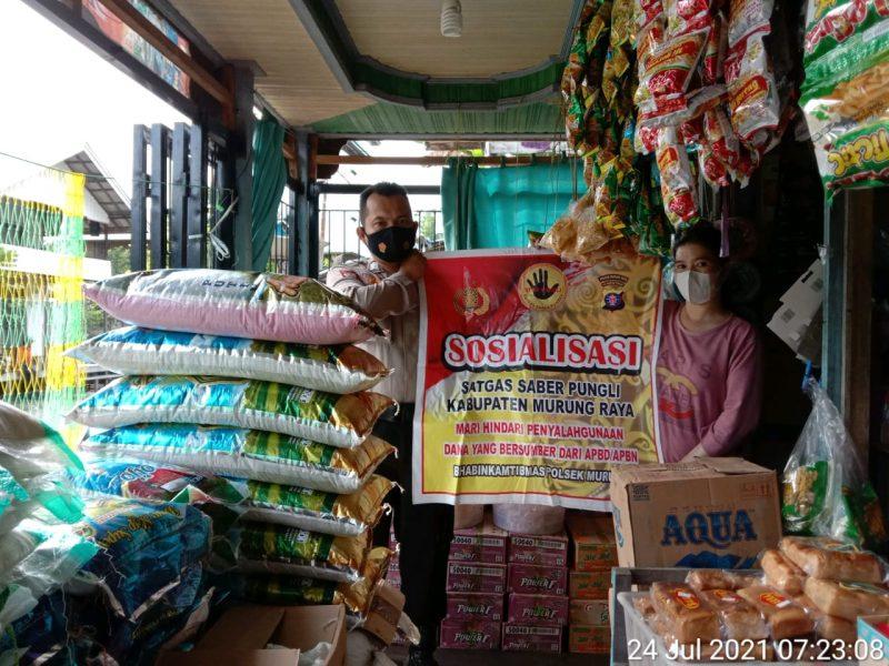 Bripka Roby Acino Imbau Pedagang Cegah Pungli
