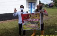 Bripka Leo Kapisah Ingatkan Warga Hindari Pungli Dana APBN dan APBD