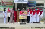 Bersama Nakes, Bripka Akhmad Kholil Ajak Hindari Praktik Pungli