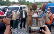 Bantu Korban Banjir, Wakil Bupati Batola Datang Langsung ke Katingan