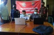 Sidang Online Dilaksanakan dari Rutan Polres Seruyan